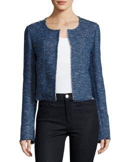 Ualana Raw-edge Tweed Jacket