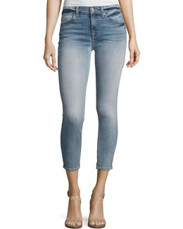 The Cropped Skinny Jeans