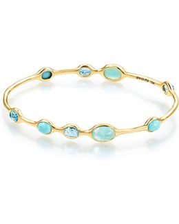 18k Rock Candy® 9-station Bangle In Waterfall