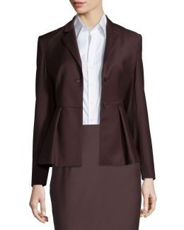 Braneve Continuous Wool-blend Jacket