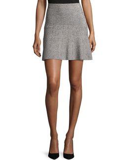 Gida Km Prosecco Knit Miniskirt