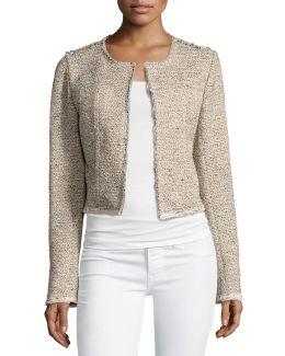 Ualana Comprised Tweed Jacket