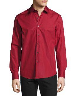 Classic Cotton Sport Shirt