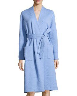 Long-sleeve Jacquard Robe