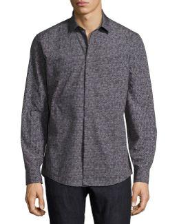 Gancini Tango Cotton Sport Shirt
