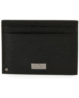 Revival Leather Card Case With Flip-out Id Window