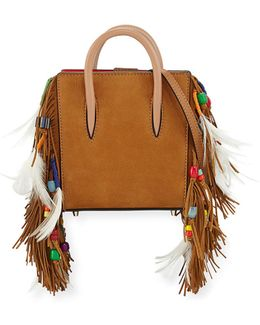 Paloma Nano Loubibird Leather Tote Bag