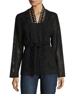 Maliah Textured Topper Jacket