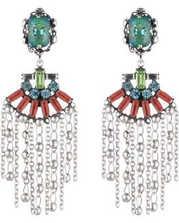 Freya Crystal Statement Earrings