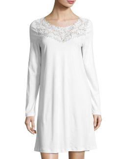 Frida Long-sleeve Nightgown