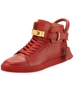 '100mm' Hi-top Sneakers