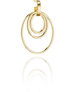 Cassio Open Circle Earrings