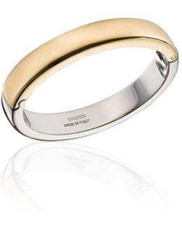 Uovo Two-tone Cuff Bracelet
