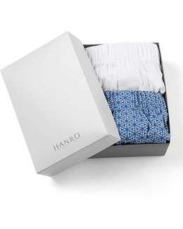 Fancy Woven Boxer 2-pack Set