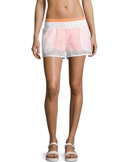 Transparent Running Shorts