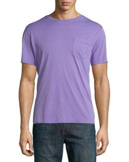 Pima Cotton Pocket T-shirt