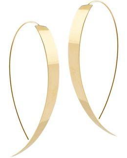 Vanity Hooked On Hoop Thread-through Earrings
