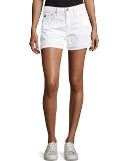 Hailey Mid-rise Denim Jeans Shorts