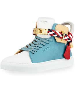 Men's 100mm Mix High-top Sneaker