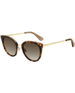 Jazzlyn Cat-eye Sunglasses