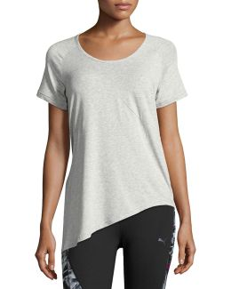 Evolution Side-knot Athletic Tee