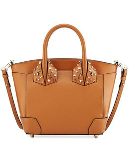 Eloise Small Leather Tote Bag