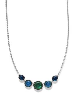 925 Rock Candy Wonderland Five-station Necklace In Taffeta