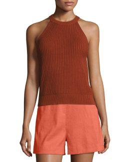 Waxson Rib Tank Sweater