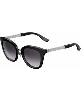 Fabry Square Metallic Sunglasses