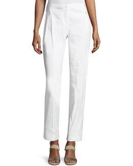 Bennet Linen-blend Pants
