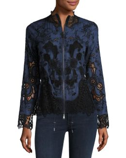 Ansel Lace-trimmed Jacket