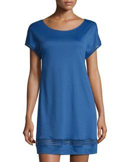 Stella Cap-sleeve Nightgown