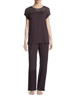 Greta Jersey Pajama Set