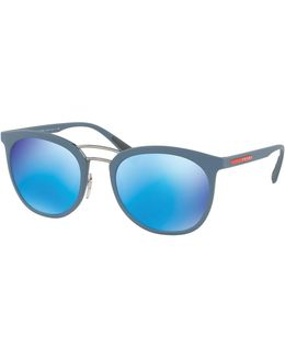 Linea Rossa Men's Double-bridge Phantos Sunglasses