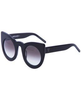 Wolves Gradient Cat-eye Sunglasses