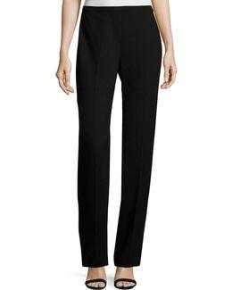 Stella Straight-leg Stretch-knit Pants