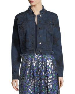 Esperanza Lace-back Denim Jacket