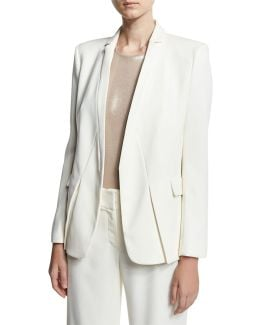 Tuxedo Jacket W/ Notch Detail