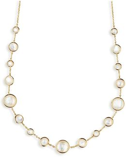 18k Gold Rock Candy Lollitini Necklace 16-18
