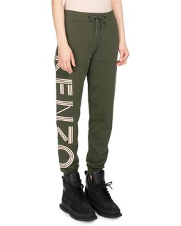 Classic Logo-side Cotton Jogger Pants