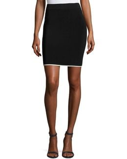 Pencil Skirt W/ Tipping