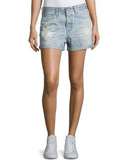 The Alex Vinte Boyfriend Denim Shorts