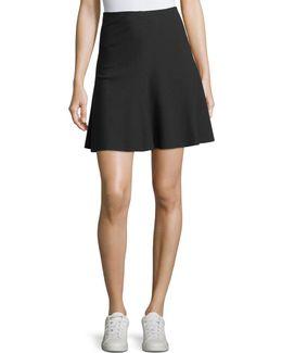 Abriln K A-line Ponte Skirt