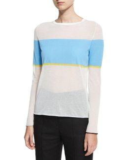 Long-sleeve Crew-neck-pullover Sweater