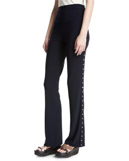 Side-snap Boot Pants