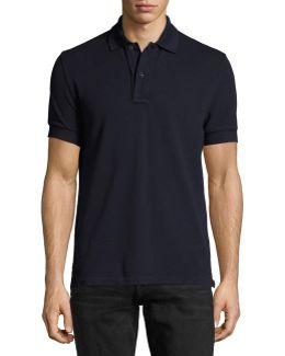 Tennis Pique Polo Shirt
