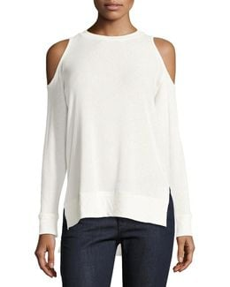 Landon Cold-shoulder Sweater