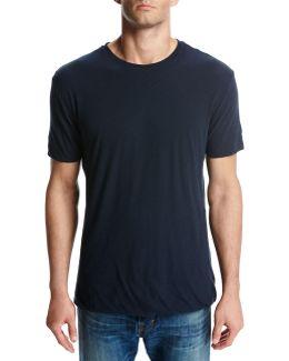 Seamless Double-layer Crewneck T-shirt