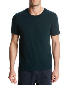 Slub Cotton Crewneck T-shirt