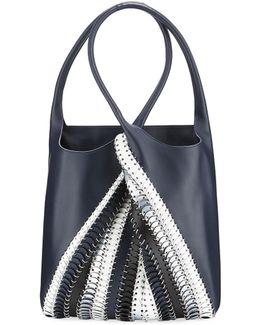 1401 Pliage Chain-link Tote Bag